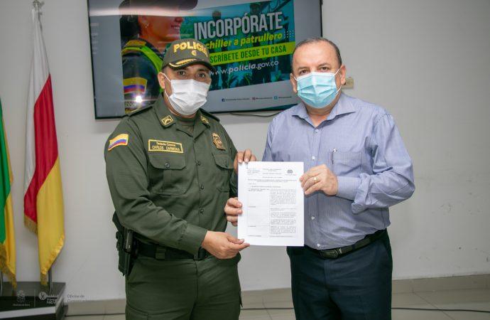 Con 50 becas para ingresar a la Policía, Alcaldía de Neiva fortalecerá pie de fuerza
