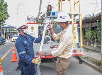Mayor seguridad y menor carga contaminante, beneficios de nuevas luminarias en Neiva