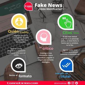 Fake News en internet, ¿Cómo identificarlas?