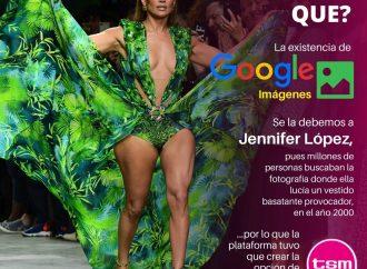 ¿Sabías que? Gracias a Jennifer López, existe hoy Google Imágenes
