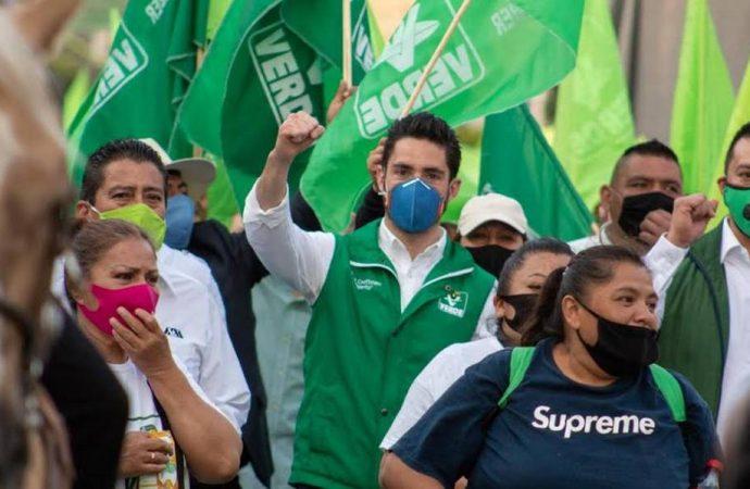 Líderes y un sector de representantes del Partido Verde piden una candidatura interna e independiente